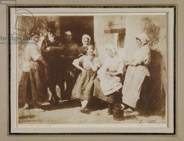 Family of John Wilson, a Newhaven Pilot, 1844 (salt print)