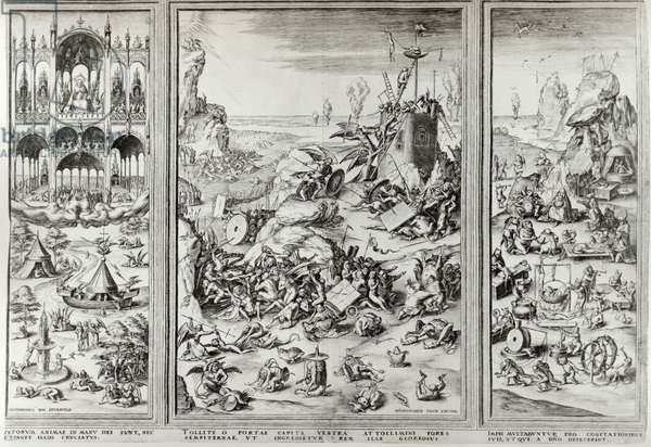 The Last Judgement, late 15th early 16th century (engraving & etching)