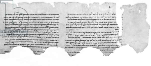 Col. I and II, The War of the Sons of Light against the Sons of Darkness Scroll (1QM), Qumran, Cave 1, 1st Century BC - 1st Century AD (ink on parchment)