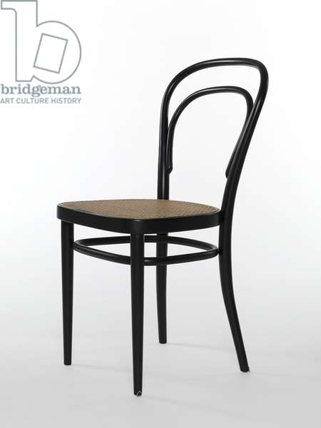 Vienna Cafe chair, model 214, 1859 (bent & laminated beech wood)