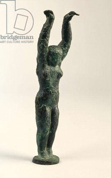 Woman with Raised Arms, 1931 (bronze)