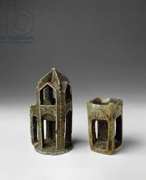 Incense Burners, San'a and Sa'dah, Yemen, 19th century (carved soapstone)