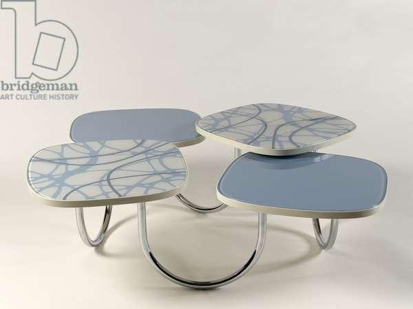 Tab-le modular dynamic table, 1997-2007 (mixed media)