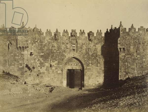 Damascus Gate, 1856 (salt print)