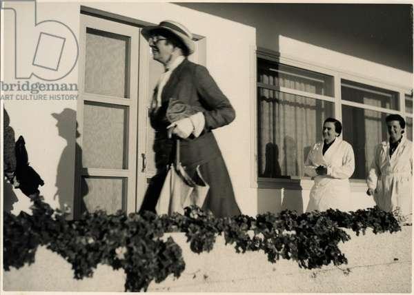 Blanche Dugdale, Balfour's Niece, c.1944 (b/w photo)