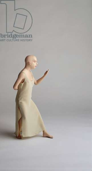 Home, 2001 (video & painted bronze) (detail)