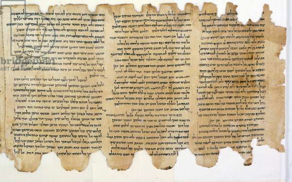 The Rule of Community, Qumran (parchment)