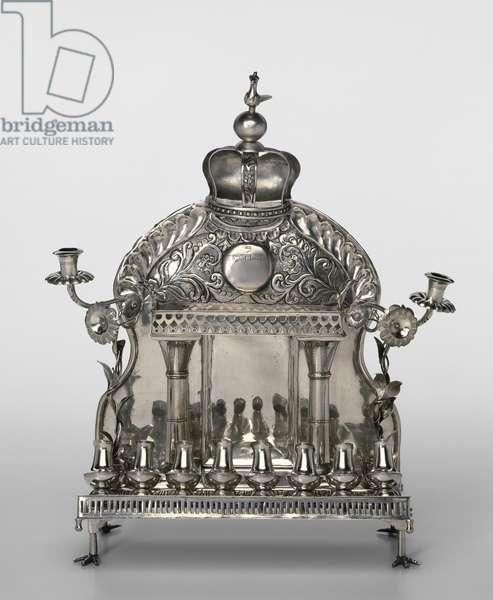 Hanukkah Lamp (silver)