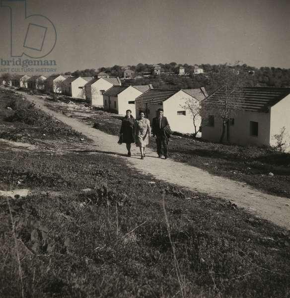 Village, 1940s (b/w photo)