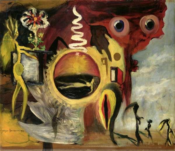 Untitled, 1947 (oil on panel)
