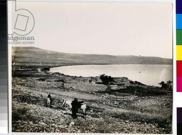 The Sea of Galilee, 1850s (gelatin silver print)