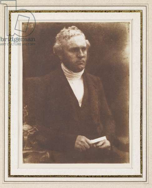 Portrait of a Gentleman, c.1840 (salt print)