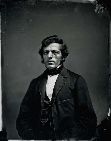 Portrait of James Graham, 1850s (gelatin silver print)