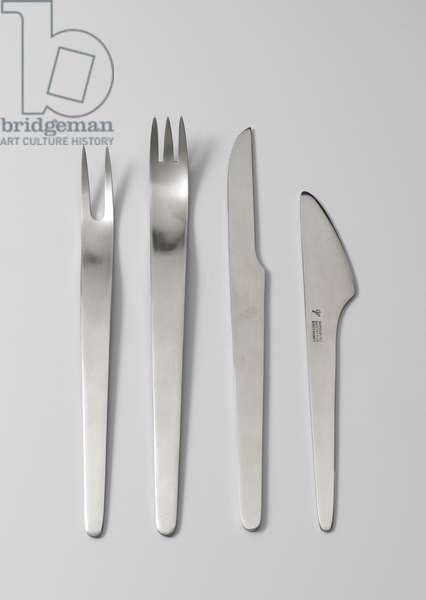 AJ Cutlery, 1957 (stainless steel)