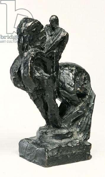 Horse and Rider, 1915 (bronze)