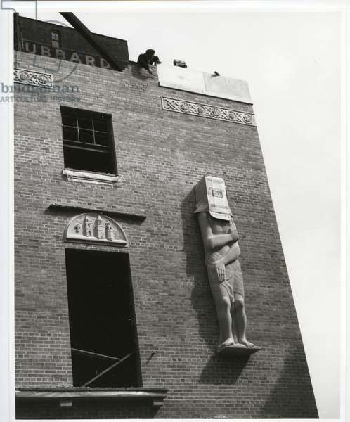 34th Street, New York, 1959 (silver gelatin print)