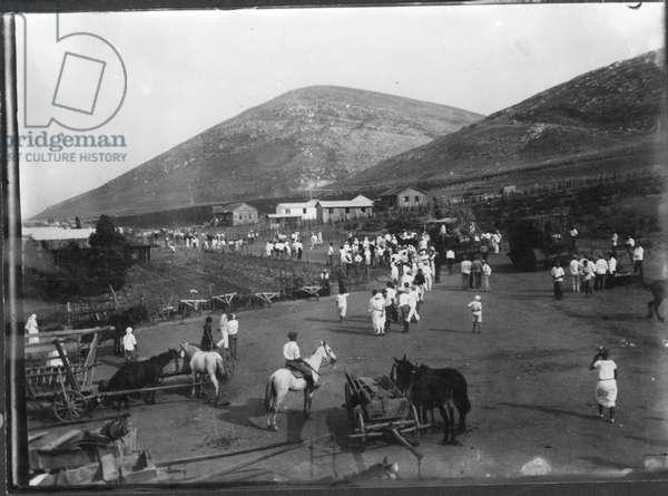 Ein Harod, 1921 (b/w photo)