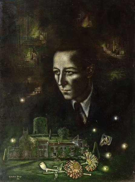 Portrait of Paul Deharme, 1934 (oil on canvas)
