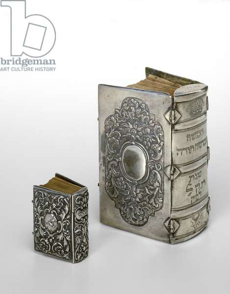Prayer book, Pentateuch and covers (silver)