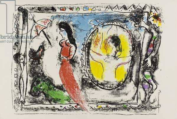 Behind the Mirror-Double Page, 1964 (M.0412)