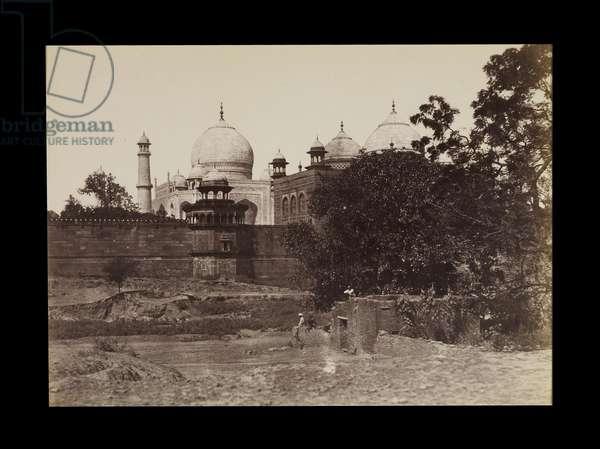 Taj Agra, c.1855 (albumen print)