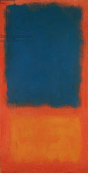 Untitled (Yellow and Red) 1955 (oil on canvas)