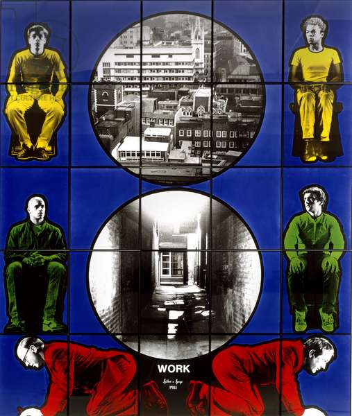 Work, 1983 (photo-piece)