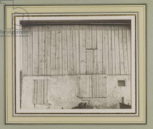 Pennsylvania Barn, 1915 (platinum print)