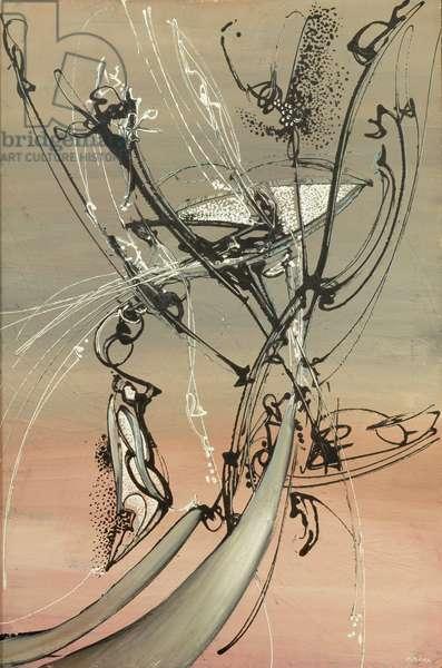Untitled, 1974 (oil on masonite)