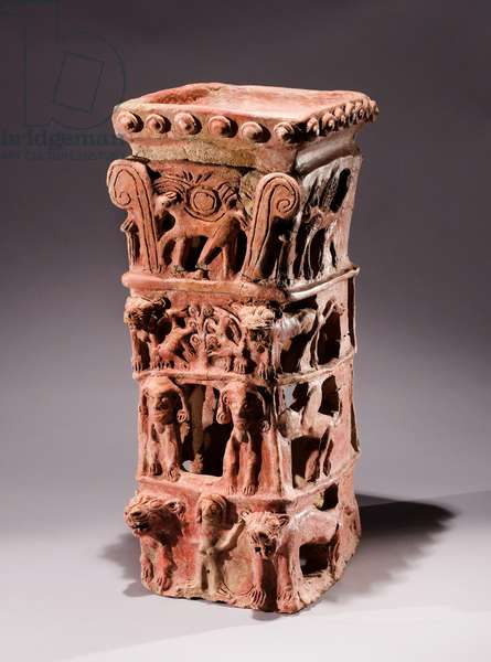 Canaanite Cult Stand, Taanach (pottery)