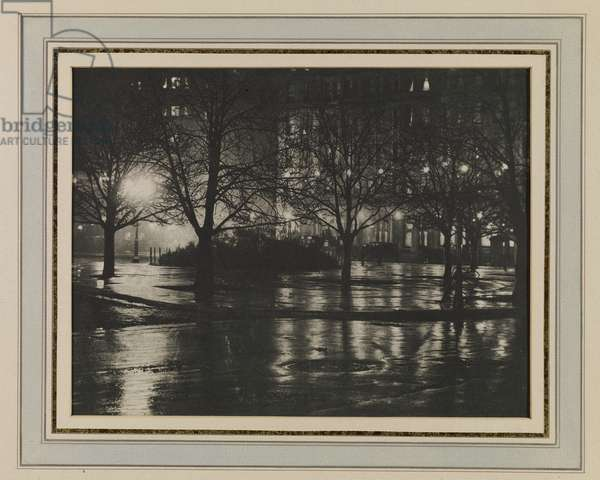 Reflections - Night (New York), 1897 (photogravure)