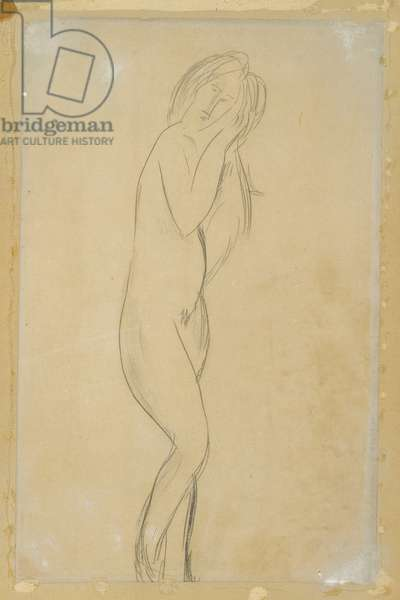 Untitled (Nude Woman) (pencil on paper)
