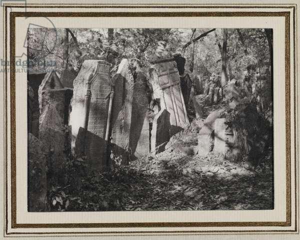 Jewish Cemetery, Prague, c.1950 (gelatin silver print)