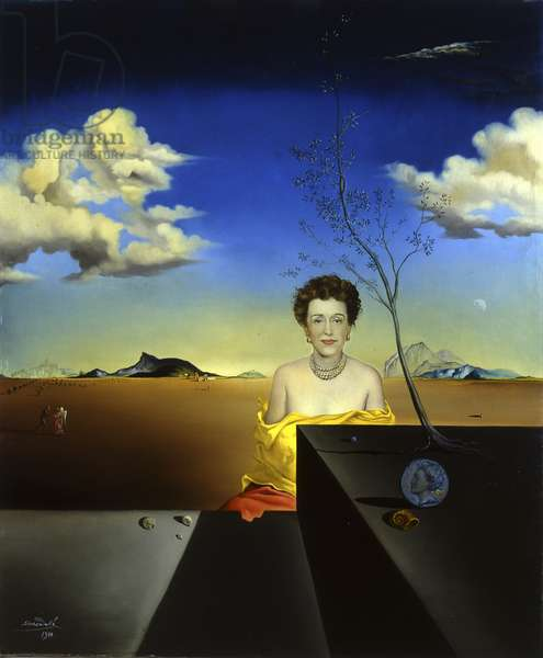 Portrait of Elizabeth Gregory, c.1946 (oil on canvas)