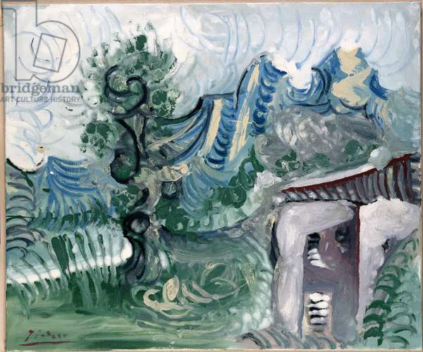 Landscape, 1965 (oil on canvas)