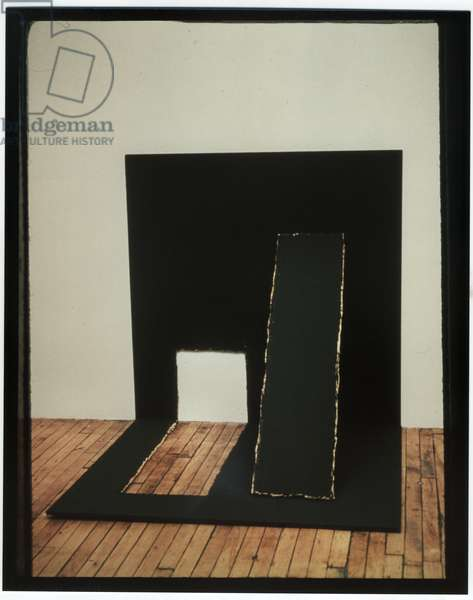 From the 4 x 8 Series, 1974-75 (acrylic on plywood)