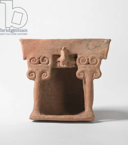 Model Shrine, Trans-Jordan (pottery)