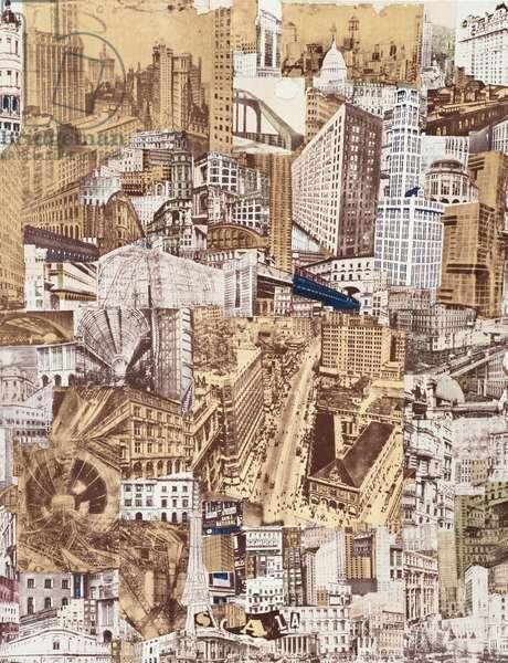 Metropolis, 1923-72 (photolitho)