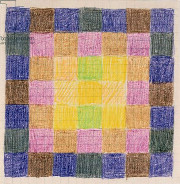 Untitled, 1967 (crayon on paper)