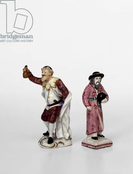 Two figurines (porcelain)