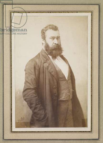 Jean-Francois Millet, c.1855 (salt print)