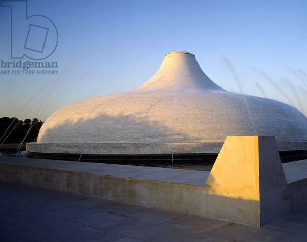 The Shrine of the Book at the Israel Museum (photo)