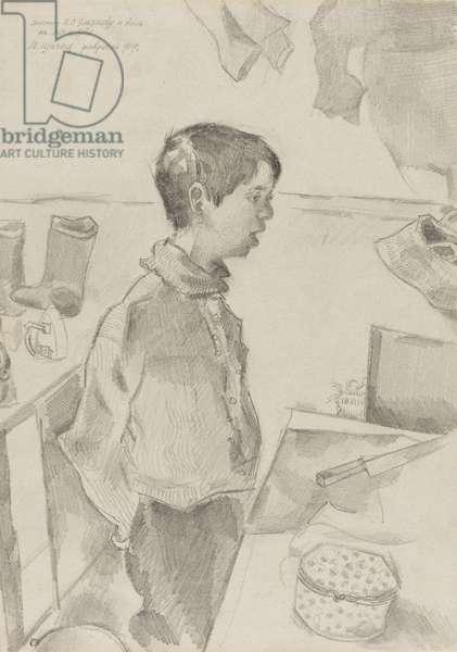 Portrait of Alia Eliacheff, 1919