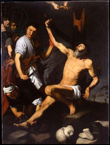 Martyrdom of St. Bartholomew, 1618 (oil on canvas)