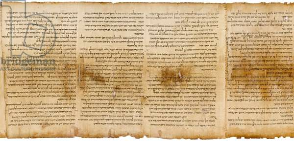 The Great Isaiah Scroll, col. 33-36, Qumran Cave I, c.100 BC (parchment)