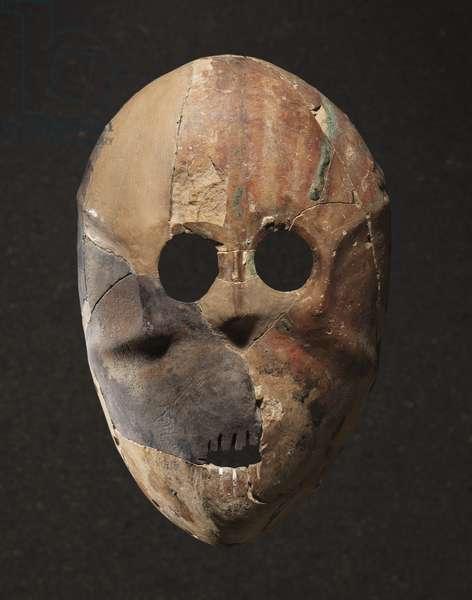 Mask, Nahal Hemar Cave (limestone)