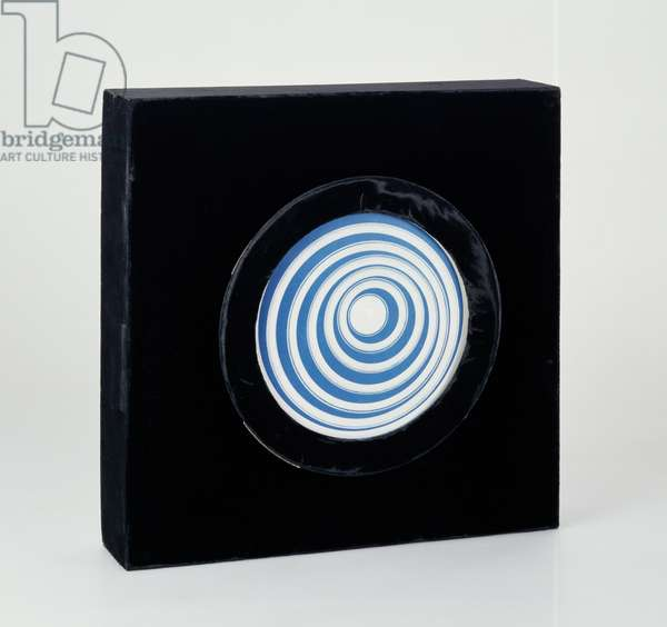 Rotoreliefs (Optical Disks) 1935/65 (turntable and six cardboard disks)