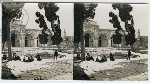 Haram El Sharif, 1850s (gelatin silver print)