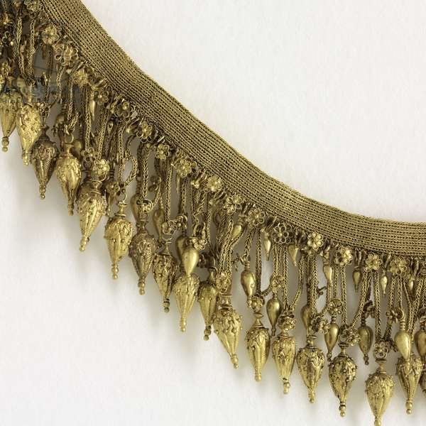 Necklace, probably from Trebizond, Black Sea region, late 4th century BC (gold) (detail of 329327)