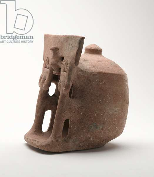 Model Shrine, Trans-Jordan (pottery)